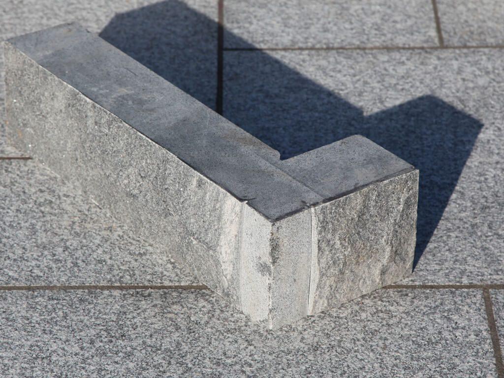 Dark Grey Granite Natural Quoin